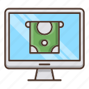 business, online, payment, screen, shopping icon