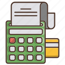 business, machine, payment, shopping icon