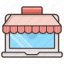 business, computer, market, shopping, store icon