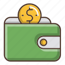 business, savings, shopping, wallet icon