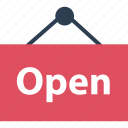 business, for, now, online, open, sale, shopping icon