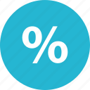 interest, online, percentage, rate, sale, savings, shopping icon