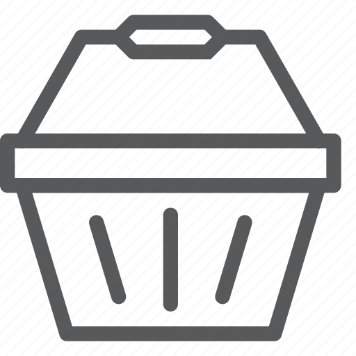 app, basket, empty, online, shopping, store icon