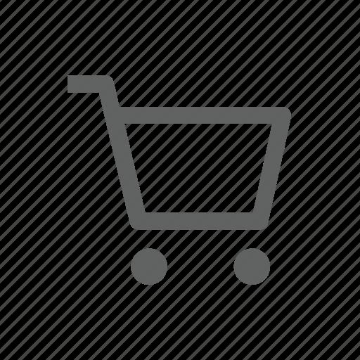 cart, e business, shopping, shopping cart icon