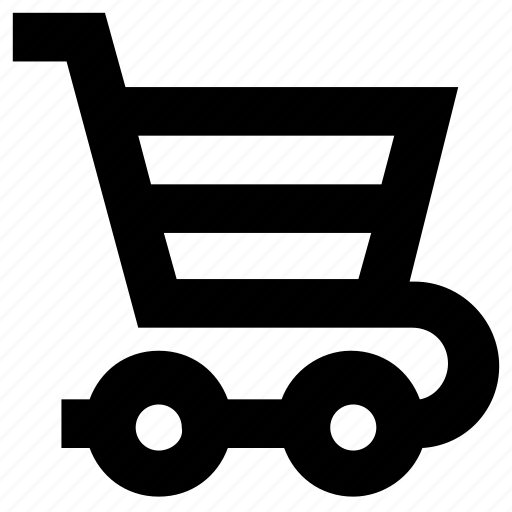 cart, ecommerce, online shopping, trolley icon