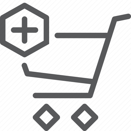 add, buy, cart, item, purchase, retail, shopping, trolley icon