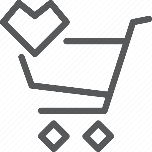 buy, cart, favorite, item, purchase, retail, shopping, trolley icon