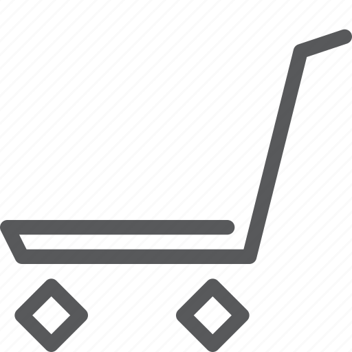 buy, cart, heavy, item, purchase, retail, shopping, trolley icon
