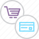 card, cart, credit, debit, finance, online, shopping icon