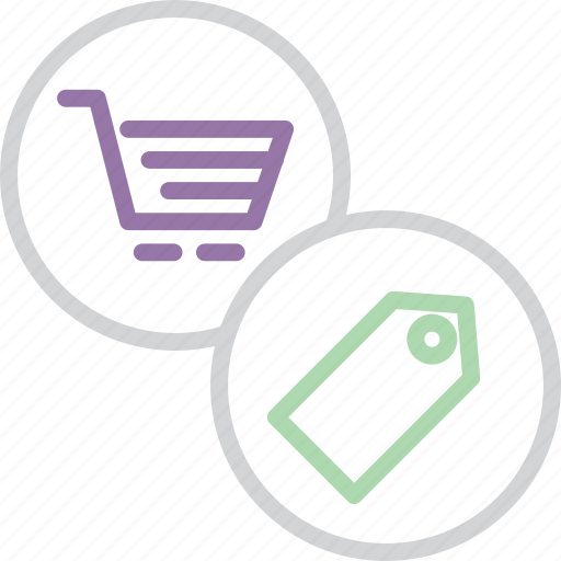 cart, finance, online, price, rate, shopping, tag icon