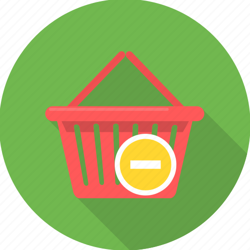 basket, cancel, cancel items, cart, delete, remove, shopping icon