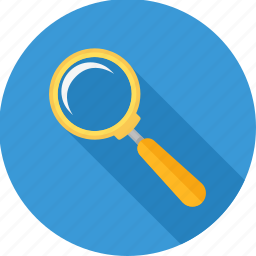 look, magnifier, search, view, zoom icon