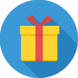 birthday, box, decoration, gift, package, parcel, present icon
