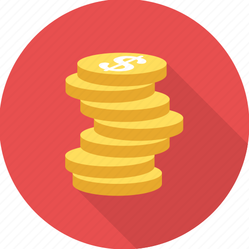 coin, coins, earn, finance, financial, investment, profit icon