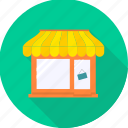 ecommerce, food hut, house, open, shop, shopping, store icon