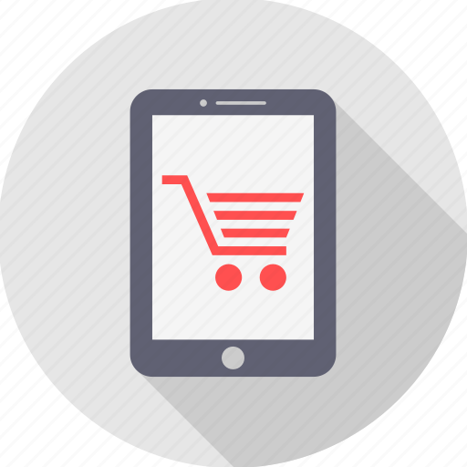 cart, ecommerce, mobile, online, shop, shopping, website icon