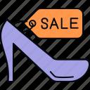 footwear, sale, discount, tag