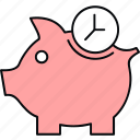 bank, cashback, finance, piggy icon