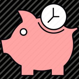 bank, cashback, finance, piggy icon