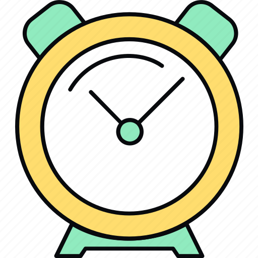 alarm, clock icon