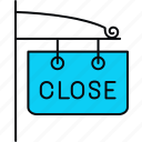close, closed, shop icon