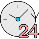 schedule, time icon