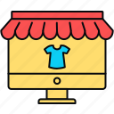 shop, clothes, clothing