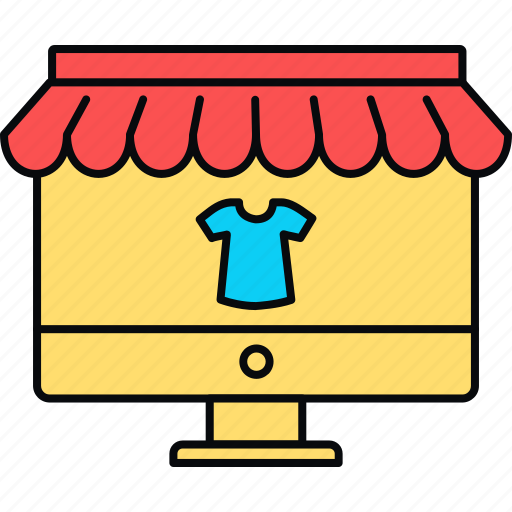 clothes, clothing, shop icon