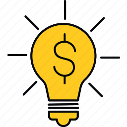 creative, ideas, money icon