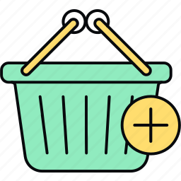 add to, basket icon