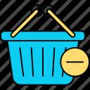 basket, deleted, remove