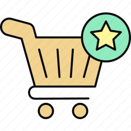 add to, buy, cart, ecommerce, trolley, wishlist icon