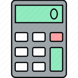 calc, calculator icon