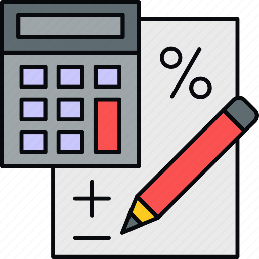 bill, billing, calculation, calculator, invoice, payment icon