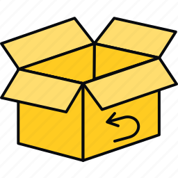 box, logistics, package, parcel icon