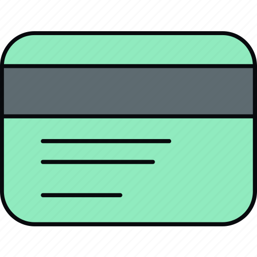 card, credit, debit, money, payment, shopping icon