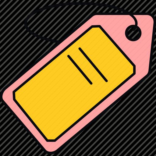 label, price, sale, tag icon