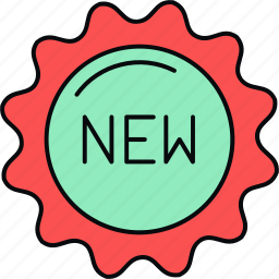 items, new, shopping icon