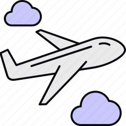 air, delivery, flight, shipping icon