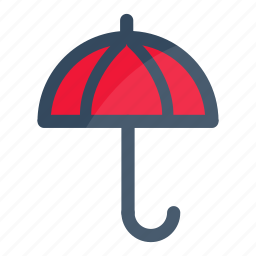 parasol, protection, umbrella icon