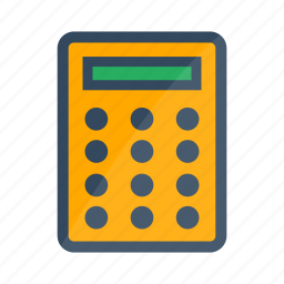 accounting, calculating, calculator, education, mathematics icon