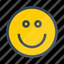 happy, emotion, face, smile
