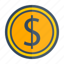 award, cash, coin, gold, money, prize icon
