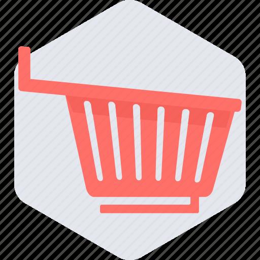 basket, cart, empty, online, shopping, trolley icon