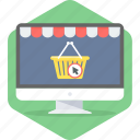 basket, cart, commerce, e, ecommerce, sale, shopping icon