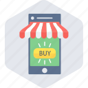 buy, ecommerce, mobile, shop, shopping icon