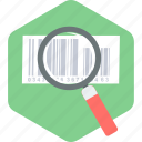 barcode, checking, code, product icon