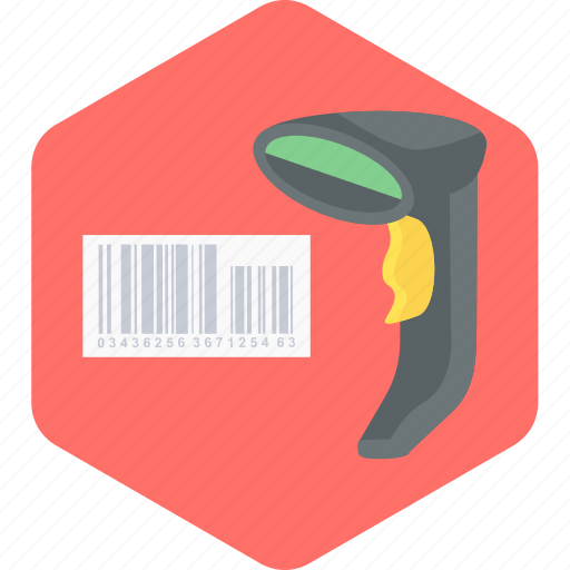 barcode, checking bill, scanner icon