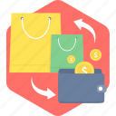 back, cash, cashback, discount, guardar, save, save money, shopping icon