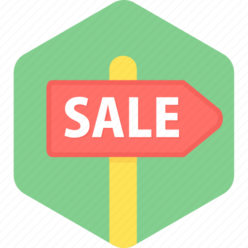 board, hording, offer, sale, shopping icon